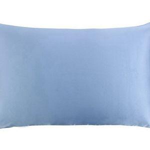 Luxury Sky Blue Silk Pillowcaces Standart size